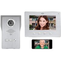 ELRO DV477IP Smart Home Türklingel (Außenbereich, Innenbereich, Video Gegensprechanlage mit App)