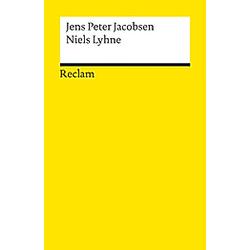 Niels Lyhne. Jens P. Jacobsen  Jens Peter Jacobsen  - Buch