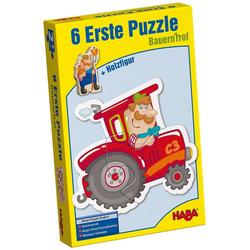 Haba Puzzle 6 Erste Puzzle - Bauernhof, Puzzleteile