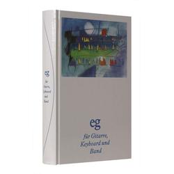 Evangelisches Gesangbuch - Mit Akkordsymbolen für Gitarre Keyboard und Band als Buch von
