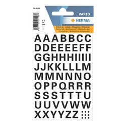 Klebebuchstaben »A-Z« (74 Sticker), Herma