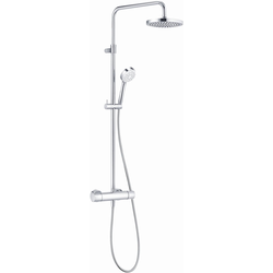 Kludi Thermostat-Dual-Shower-System LOGO DN 15 chrom