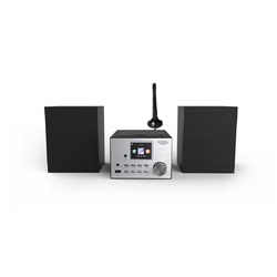 Xoro HMT 500 Pro Microanlage (Digitalradio (DAB), 20 W, MP3-Streaming (UPnP) vom PC oder NAS)