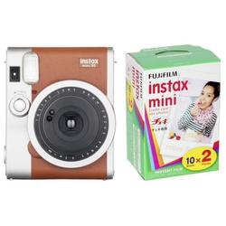 Fujifilm Instax Mini 90 Neo Classic braun + Instax Mini Film DP