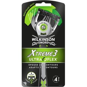 Wilkinson Xtreme 3 Ultra Flex Einwegrasierer für Männer, 4 Stück