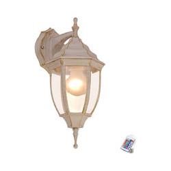 RGB LED Wandlampe aus Alu im Laternen-Design NYX I