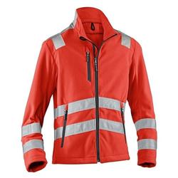 Warnschutz-Fleecejacke »REFLECTIQ« Größe XL rot, Kübler
