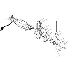 PROXXON 27088-67 Kulissenstein für Dekupiersäge DS230/E