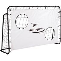 Hudora Hornet Fußballtor 180 mit Torwand weiß