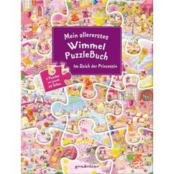 Mein Wimmel-PuzzleBuch Prinzessin
