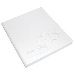 GOLDBUCH 48004 23x25cm Gästebuch Hochzeit weiß