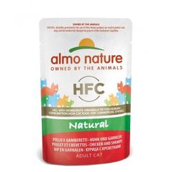 Almo Nature HFC Natural Kip & Garnalen 55 gr  24 x 55 gram