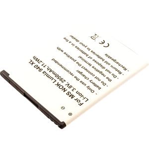 AKKU 13261 - Smartphone-Akku für Microsoft Lumia, Li-Ion, 2950 mAh