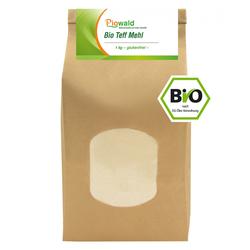 BIO Teff Mehl - 1 kg, glutenfrei