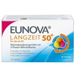 EUNOVA Langzeit 50+ Kapseln 30 St