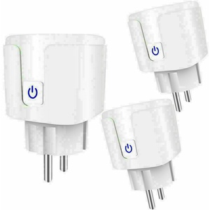 Smart Wifi Steckdose Android iOS Alexa Amazon Google Intelligente Socket Plug DE