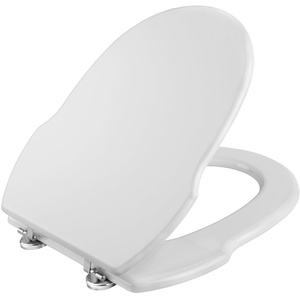 Cornat WC-Sitz GRECIA weiß / Toilettensitz / Toilettendeckel / Klodeckel / WC-Deckel / Holzkern (MDF) / KSGRE00