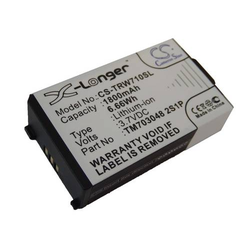 vhbw Li-Ion Akku 1800mAh (3.7V) für Kopfhörer Headset Tritton Warhead 7.1 wie TM703048 2S1P.