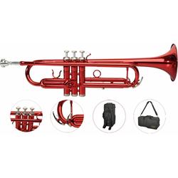 Steinbach Bb-Trompete Steinbach Bb- Trompete in Rot mit Neusilber Ventilen - Bestangebot