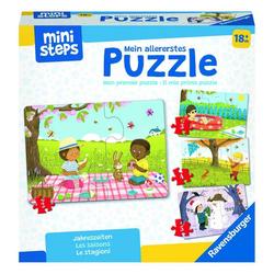 Ravensburger Puzzle ministeps Jahreszeiten, Puzzleteile