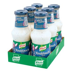 Knorr Knoblauch-Sauce 250 ml, 6er Pack