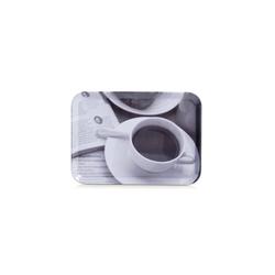 Neuetischkultur Tablett Serviertablett Kaffee-Design, Melamin, (1-tlg), Serviertablett