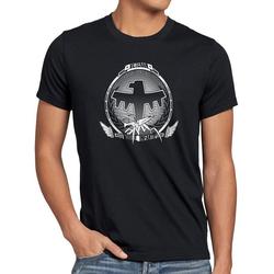 style3 Print-Shirt Herren T-Shirt Mobile Infantry Veteran starship infanterie weltraum XXL