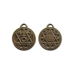 Adelia´s Amulett Alte Symbole Talisman, Pentakel des Vaters - Für Kraft in schwierigen Situationen