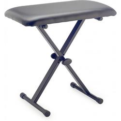 Stagg Klavierbank Klavier-/Keyboardbank A20, sehr robust, große Sitzfläche