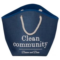 D&D Hundekorb Home Collection Pet Cave Laundry Bag blau