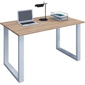 VCM my office   Lona Schreibtisch eiche rechteckig