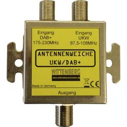 Wittenberg Antennen UKW & DAB+ Antennenweiche UKW, DAB+