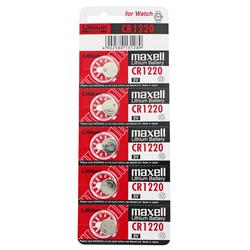 5 Stück CR1220 Lithium Batterie IEC CR1220, 3 Volt max. 38mAh, 12x2mm