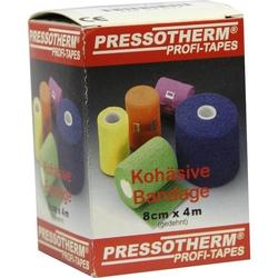 Pressotherm Kohäsive Bandage 8cmx4m rot