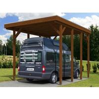 SKANHOLZ Friesland Caravan 3,97 x 5,55 m nussbaum
