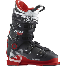 Salomon X Max 100 Herren Performance Skischuh Red/Black 29,5 Mondopoint