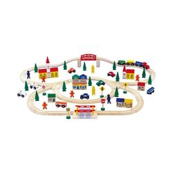 Small Foot Spielzeug-Eisenbahn Holzeisenbahn, groß