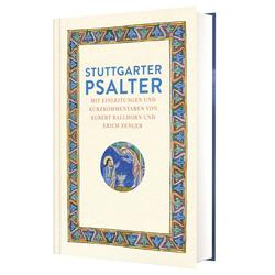 Stuttgarter Psalter als Buch von