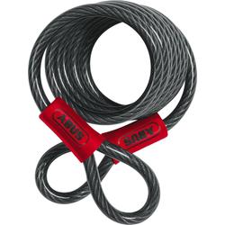 ABUS 1850 Stalen kabel, zwart, 185 cm