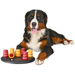 Trixie Hundespielzeug Solitär Strategiespiel rot