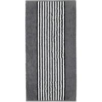 CAWÖ Black & White Duschtuch 70 x 140 cm anthrazit