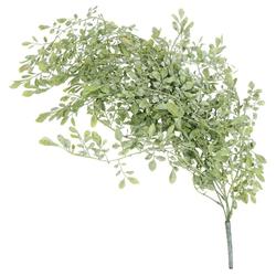 Kunstblume Teebaumblatt Kunstpflanze künstlich 85 cm grün bepudert Teebaum, matches21 HOME & HOBBY, Höhe 85 cm, Indoor