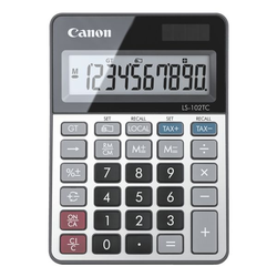 Taschenrechner »LS-102TC«, Canon, 10.6x14.9x2.4 cm
