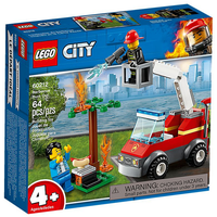 Lego City Feuerwehr beim Grillfest 60212