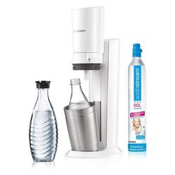SodaStream Wassersprudler Wassersprudler Crystal Design 2.0 Weiss