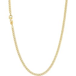 amor amor Halskette für Damen, Gold 375