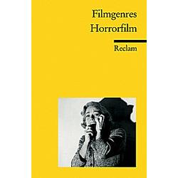 Filmgenres: Horrorfilm - Buch