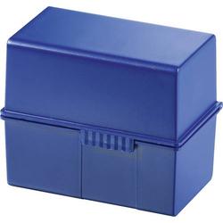 HAN 976-14 Karteibox Blau max. Anzahl der Karten: 400 Karten DIN A6 quer