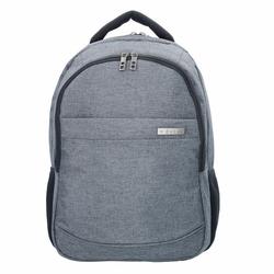 d&n Bags & More Rucksack 46 cm Laptopfach grau