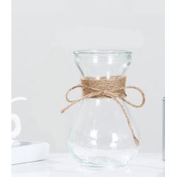 Gotui Tischvase, Glasvasen,Transparentes wasser vasen,Hydroponik Blumenseil Vasen